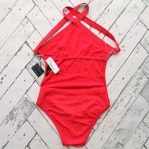 "LA Hearts Swim - La Hearts ""America"" One Piece Swimsuit"